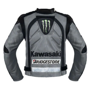 kawasaki-gray-motorcycle-safety-pads-jacket-jacket