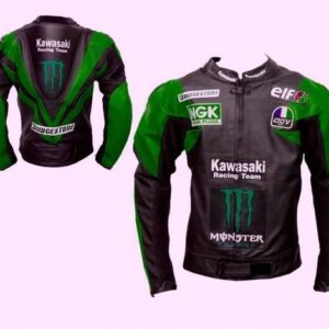kawasaki-green-and-black-motorcycle-safety-pads-jacket