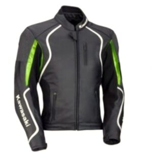 kawasaki-motorbike-green-and-black-branded-leather-jacket