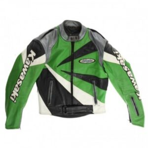 kawasaki-ninja-motorcycle-green-black-leather-racing-jacket