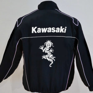 kawasaki-white-and-black-color-wind-breaker-jacket
