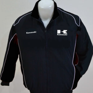 kawasaki-white-and-black-color-wind-breaker-jacket