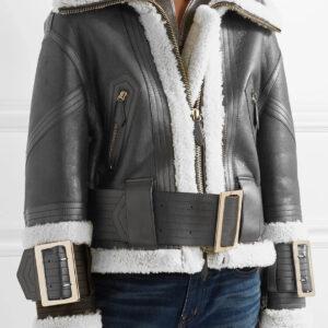 leather-trimmed-shearling-fur-black-jacket