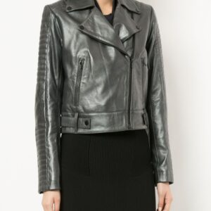 metallic-grey-leather-cropped-biker-jacket
