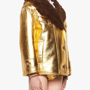 metallic-shearling-fur-collar-leather-jacket