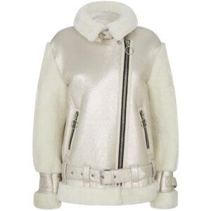 metallic-shearling-fur-leather-biker-jacket