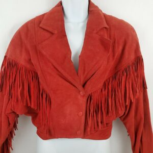 red-suede-leather-cropped-fringe-jacket