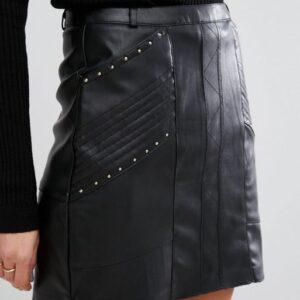 river-island-biker-leather-look-mini-skirt-black