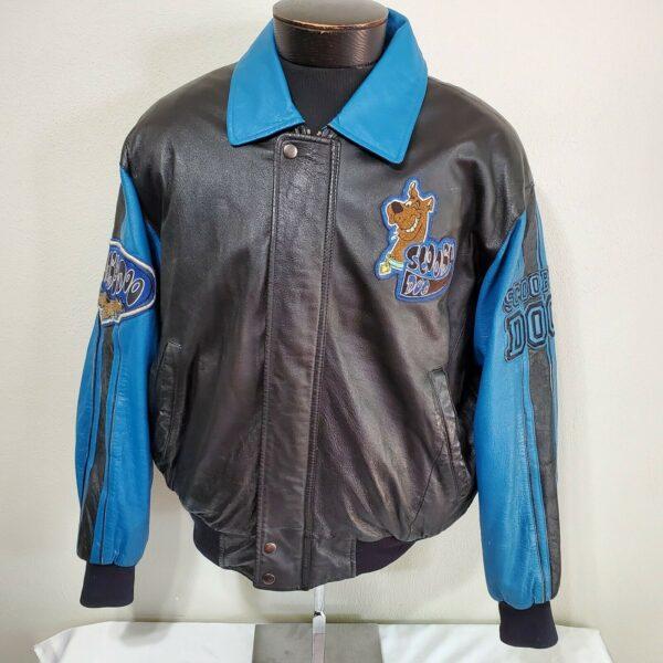 scooby-doo-bomber-leather-jacket
