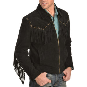 scully-boar-black-suede-fringe-jacket