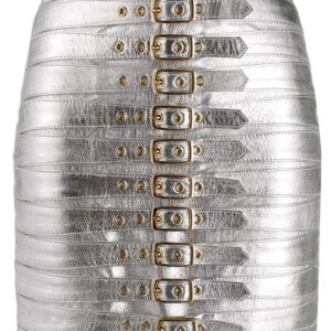 silver-metallic-buckle-detail-biker-mini-skirt
