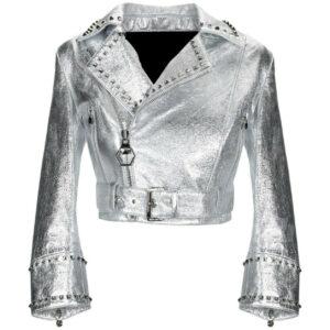 silver-shiny-punk-studded-brando-classic-biker-leather-jacket