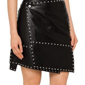 studded-biker-leather-skirt