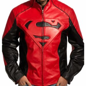 superman-smallville-red-and-black-leather-jacket