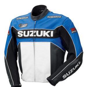 suzuki-blue-white-motorcycle-leather-jacket