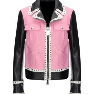 two-tone-silver-studded-biker-jacket