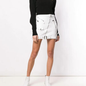 white-leather-biker-mini-skirt