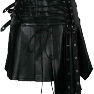 women-steampunk-rock-wrinkle-mini-biker-skirt