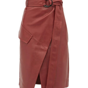 wrap-style-high-rise-leather-skirt