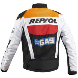 DUHAN-Orange-And-Black-Motorcycle-Repsol-Jacket