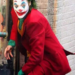 Joaquin Phoenix Joker Red Coat (