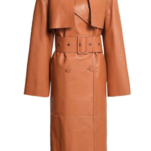 belted-fringed-leather-trench-coat