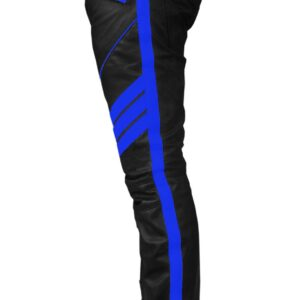 black-cow-leather-with-blue-strip-biker-pant