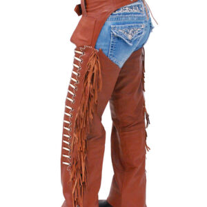 brown-leather-chaps-w-fringe-bone-beading