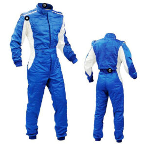car-one-piece-blue-and-white-racing-suit