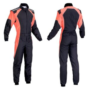car-one-piece-red-and-black-racing-suit