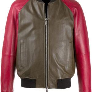 colour-block-bomber-leather-jacket