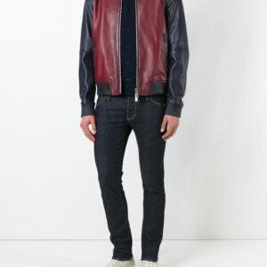 contrasted-leather-bomber-biker-jacket