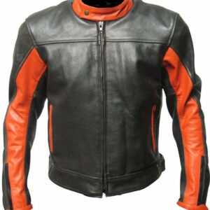 custom-black-and-orange-leather-racing-jacket