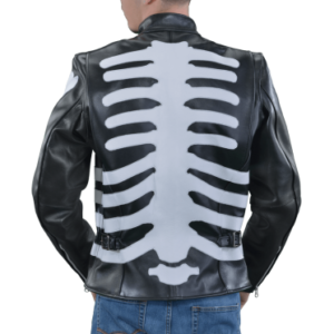 custom-black-and-white-skeleton-bones-racing-jacket