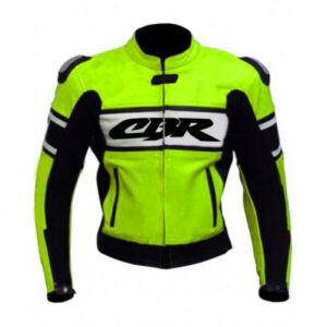 custom-cbr-motorcycle-green-and-white-leather-jacket