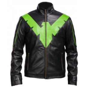 dick-grayson-nightwing-jacket-with-eagle-front-green