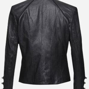 handmade-black-women-military-leather-jacket