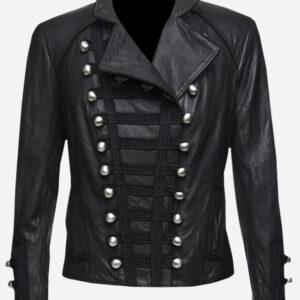 handmade-black-women-military-leather-jacket