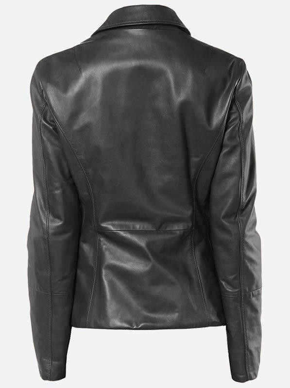 lightweight-4-button-black-leather-blazer-coat