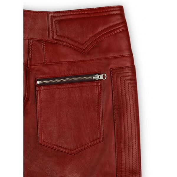 men-cool-style-bright-red-leather-biker-pant