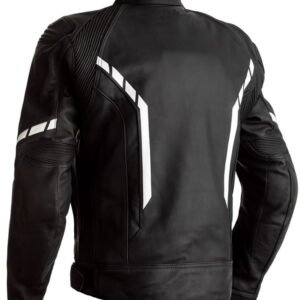 motorcycle-black-and-white-leather-jacket