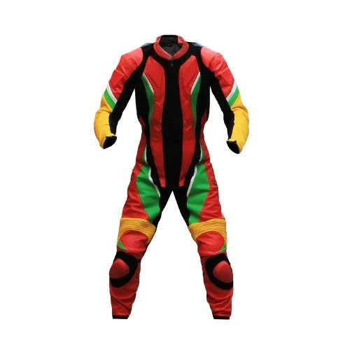 Motorcycle Multi colors Leather One Piece Racing Suit