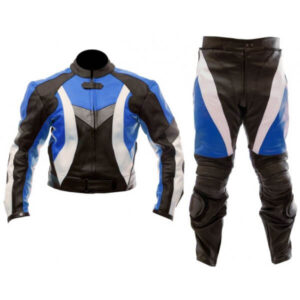 motorcycle-sports-black-blue-biker-leather-suit