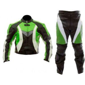 motorcycle-sports-black-green-biker-leather-suit