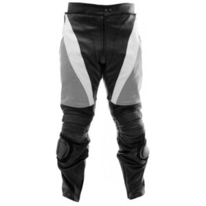 motorcycle-sports-black-grey-leather-pants