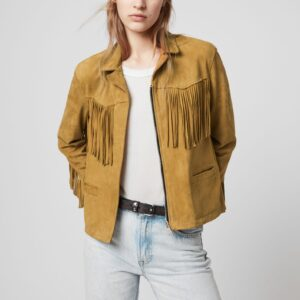 mustard-yellow-suede-tassel-leather-jacket