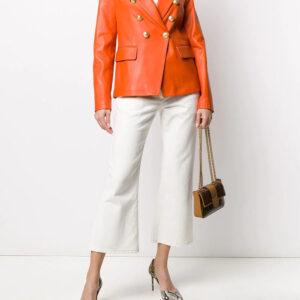 orange-lambskin-leather-double-breasted-jacket