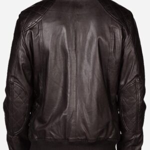 quilted-look-men-brown-bomber-leather-jacket