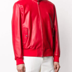 red-lambskin-leather-bomber-jacket