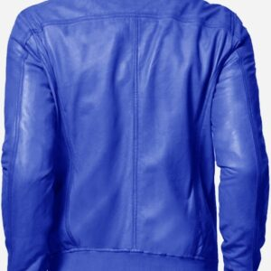 regular-fit-blue-bomber-leather-jacket